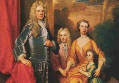 Georg Friedrich Händel Familie